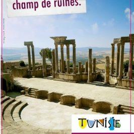 """""""On raconte que la Tunisie est un champ de ruines."""""""
