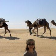 Ma première méharée dans le Sahara tunisien