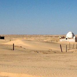 Une journée au marabout dans le désert tunisien