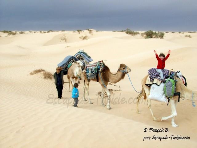 Interview : 3 jours en famille dans le désert tunisien
